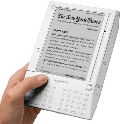 The original Amazon Kindle