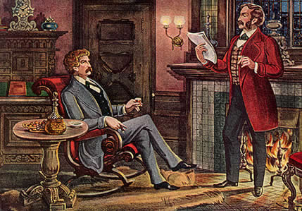 Mark Twain writes a play with Bret Harte