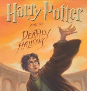 Cover Illustration of Harry Potter and the Deathly Hallows