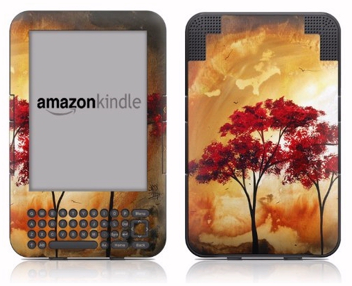 DecalGirl Kindle protective vinyl skin Empty Nest
