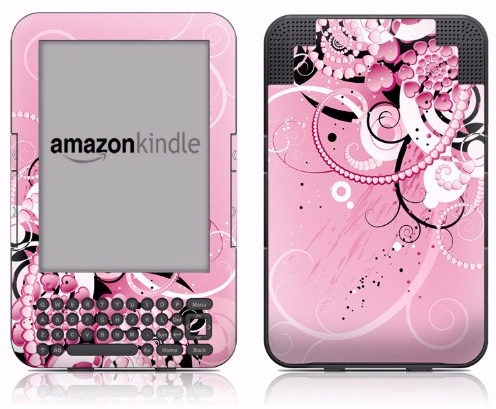 DecalGirl pink Kindle vinyl protective cover skin
