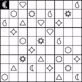 Symdoku (Sudoku variation) game for Kindle screenshot