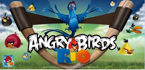 Amazon Android Store Angry Birds Rio app