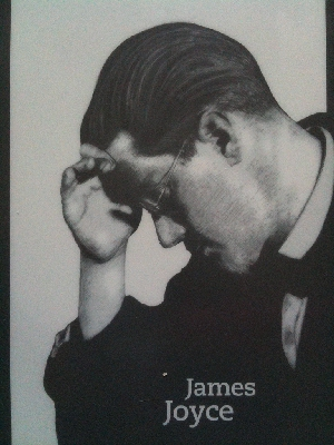 James Joyce screensaver from Amazon Kindle