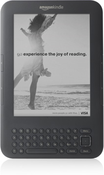 114 Kindle Visa screensaver ad