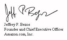 CEO of Amazon CEO Jeff Bezos