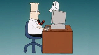 Dilbert and Dogbert
