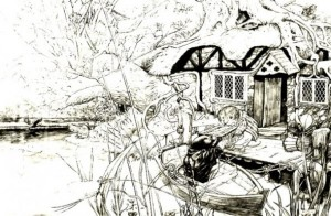 Wind in the Willows - Rat and Mole on the River