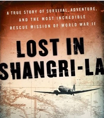 Book cover for Lost in Shangri-La by Mitchell Zuckoff