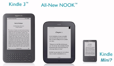 New Amazon small Android tablet Kindle Nano or Mini?