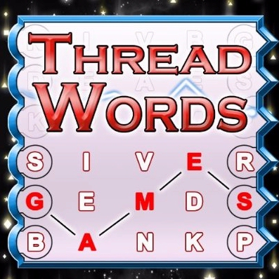 New free Amazon Kindle word game Thread Words