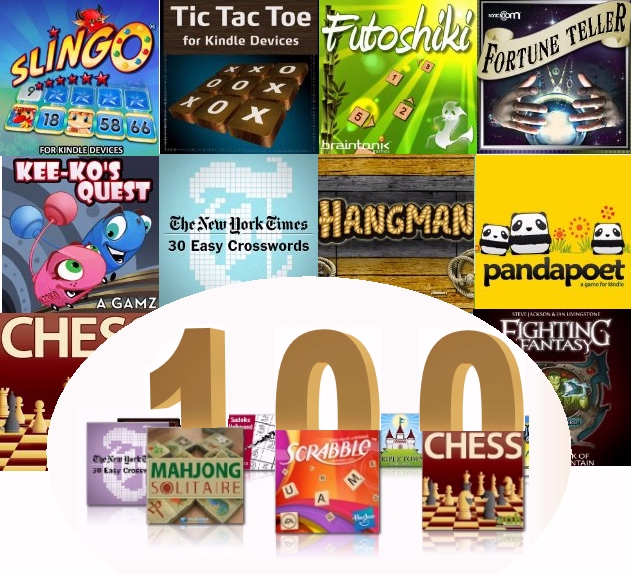 100 games for the Kindle