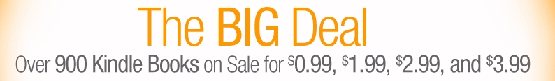 Amazon Big Deal 99-cent ebook sale