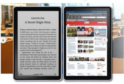 Amazon two-screen Kindle Android tablet