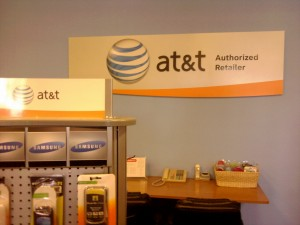 AT&T Store (sign)