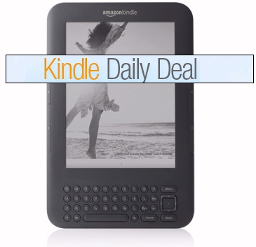 Amazon Kindle Daily Deals on ebooks