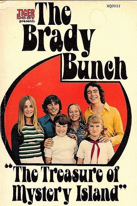 Brady Bunch mystery book