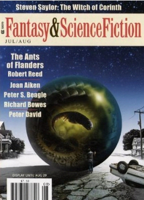 Free Kindle Fantasy and Science Fiction Magazine cover illustration