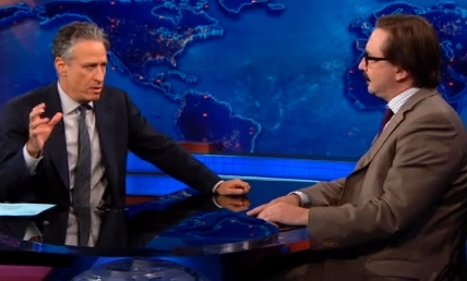 Jon Stewart and John Hodgman on the Daily Show