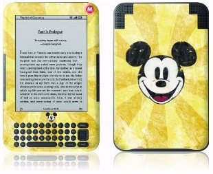 Mickey Mouse Kindle skin