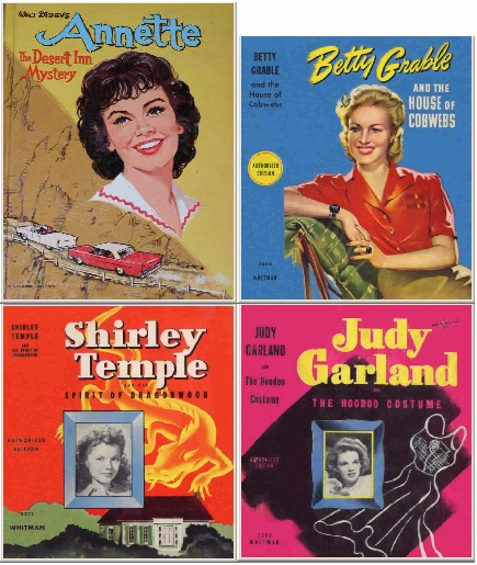 Whitman books about Hollywood movie stars