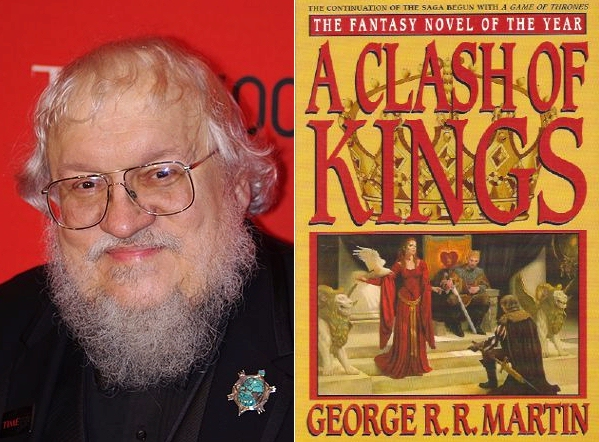 George R R Martin - Game of Thrones book cover
