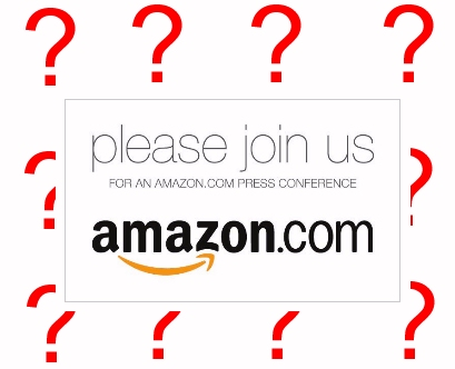 Image of Amazon tablet Press Conference announcement September 28th