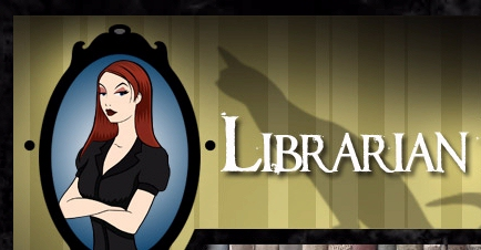 Librarian in Black Sarah Houghton