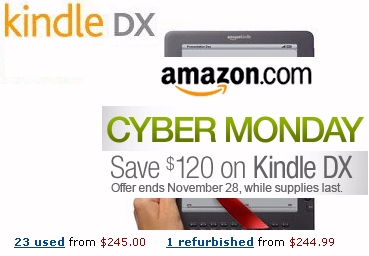 Amazon's Cyber Monday deal on a Kindle