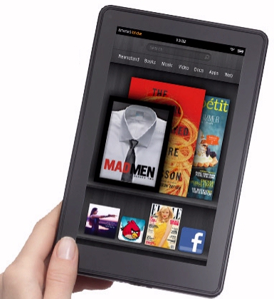 Amazon&#039;s new Kindle Fire tablet