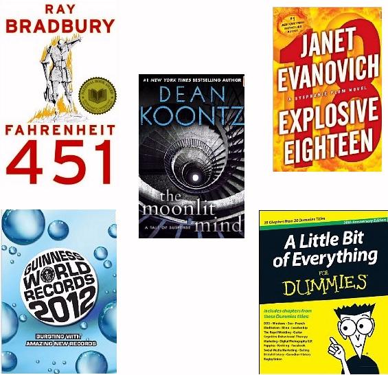 Five New Kindle Ebooks