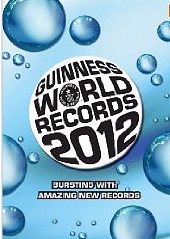 Guinness Book of World Records 2012 cover