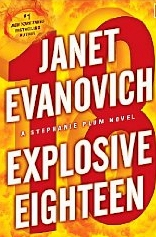 Janet Evanovich - Explosive Eighteen cover
