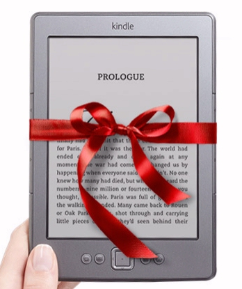 New Amazon Kindle gift wrapped