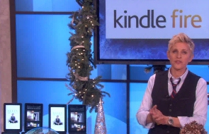 Ellen Degeneres' 12 Days Giveaway is a Kindle Fire tablet
