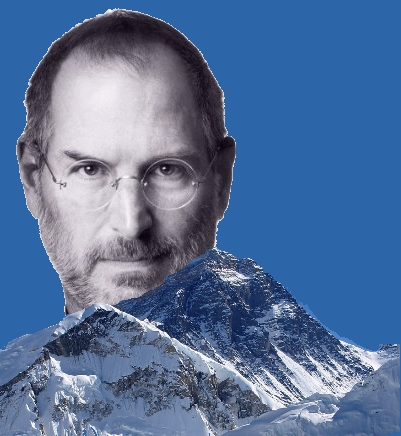 Steve Jobs biography is a rising sun over Mount Everest
