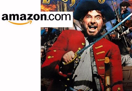 Long John Silver vs. the Amazon logo