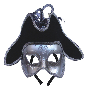 The mask of a pirate