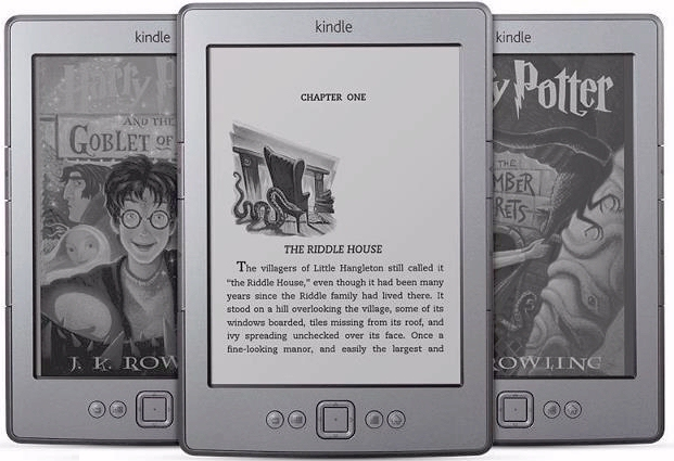Harry Potter as a Kindle ebook