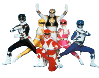 The Might Morphing Power Rangers