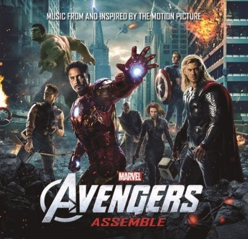 The Avengers movie soundtrack cover