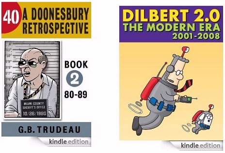 Dilbert and Doonesbury Kindle ebook anthologies