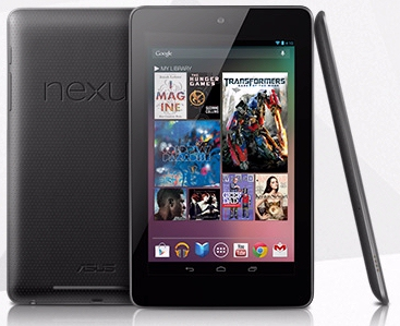 Nexus 7 tablet from Google
