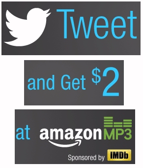 Amazon Twitter $2.00 Discount .mp3 Music Sale