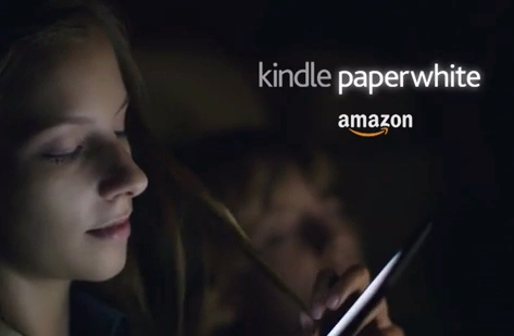 Amazon's Kindle Paperwhite TV ad