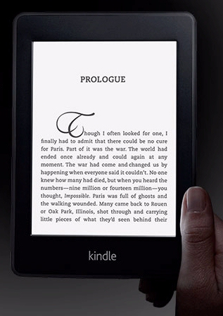 Amazon's new Paper white Kindle