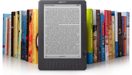 Kindle DX vs books
