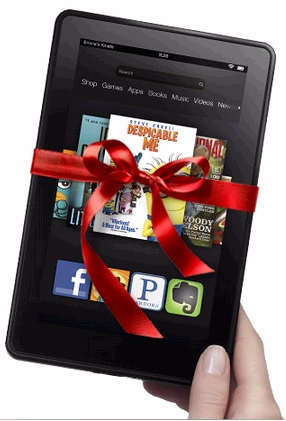 Amazon discounts Kindle Fire for Cyber Monday - gift-wrapped for Christmas deal shoppers