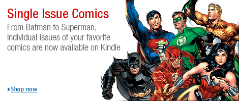 Single Issue Comic Books for Kindle Fire and Android
