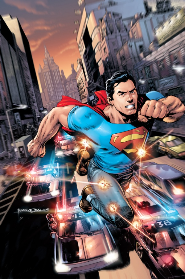 Cover of Superman - Action Comics 1 - 2011 - Grant Morrison - Kindle Fire